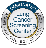 Designated Lung Cancer Screening Center badge